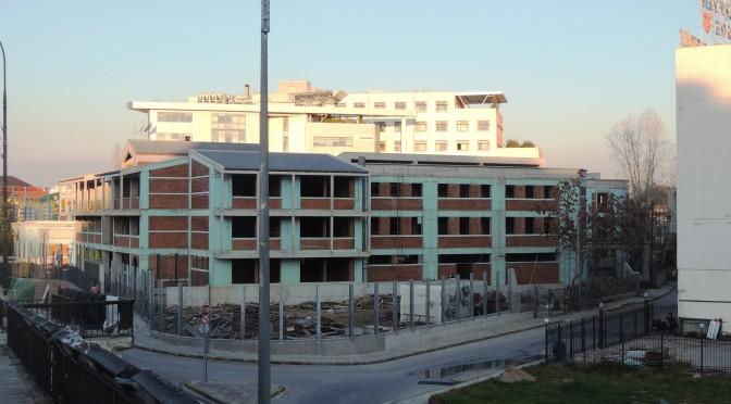 Die Baustelle und ihre Arbeitsbereiche